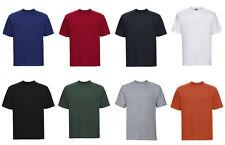 Russel Herren Arbeits T-Shirt Workwear 100% Baumwolle 180g/m² Trockner Beruf