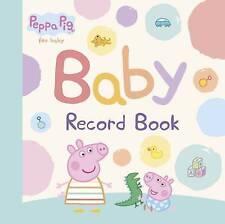 Peppa Pig Baby Record Book 9780723299912 (Hardback, 2015)  A25