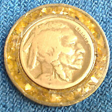A vintage Buffalo Nickel medal by pewter!!! RARE
