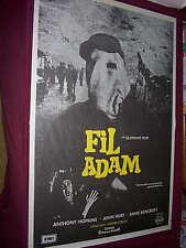 ELEPHANT MAN  rare original Turkish 1 sheet + PRESS
