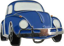 Retro Belt Buckle- Beetle (Blue)