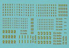 DECAL,TRASFERIBILI FS EPOCA III sc.HO (87.09)