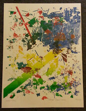 Thomas' Travel Service by Thom De Jong (70s 80s Dutch NYC Artist) Abstract