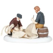 Department 56 New England Village Mending the Sails Figurine 6005423 New