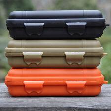 Outdoor Waterproof Shockproof Plastic Survival Container Storage Case EDC Tools