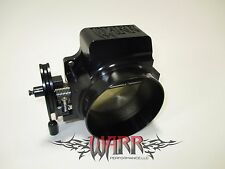 Black 92mm Throttle Body- No Vent Tube- 4 Bolt-  LS1 LS3 LSX- WARR Performance