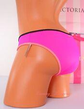 VICTORIA'S SECRET VS Swim Classic Hipster Surf Bikini Bottom L Large Pink 3IIG