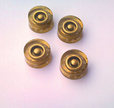 Vintage Gold Speed Knob for Gibson / Les Paul guitar set of 4