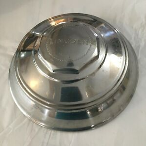 Vintage 1946 Lincoln Continental 12 Inch Hubcap (1Hubcap Only) OEM Nice Preowned