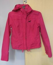 Hollister Hooded  Jacket Pink Size 8  Ladies Womens