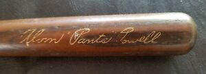 ALVIN PANTS POWELL RARE LOUISVILLE SLUGGER 40 VINTAGE MINI BAT NY YANKEES