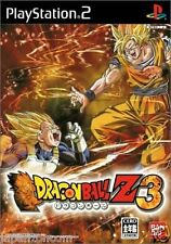 Used PS2  Dragon Ball Z 3  SONY PLAYSTATION JAPAN IMPORT
