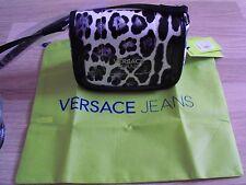 NEW VERSACE JEANS Small  Cross Body Bag Animal Print