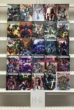 Transformers Idw 25 Lot Comic Book Comics Set Run Collection Box