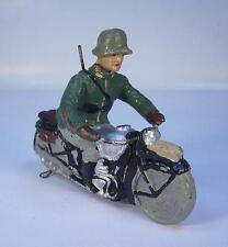 Elastolin Masse 7cm Kradmelder - Kradfahrer Motorradfahrer #035