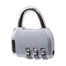 Mini Backpack Shape Travel Padlock Anti-theft Code Lock 3 Digit Combination S