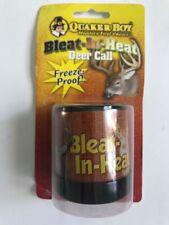 QUAKER BOY BLEAT IN HEAT DEER CALL  - FREEZE PROOF B1-1243 Hunter Choice Rut Tan