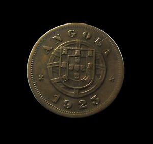 PORTUGUESE ANGOLA 5 CENTAVOS 1923 KM 62 #6438#