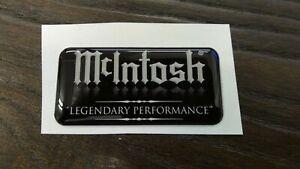 3D Dome - McIntosh Badge Logo Emblem - Scarce item - limited quantity available