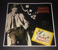 SIGNED RICK WAKEMAN 12x12 ALBUM COVER PHOTO DAVID BOWIE ABSOLUTE BEGINNERS RARE