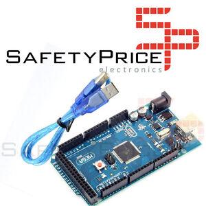 MEGA 2560 R3 REV3 ATmega2560 CH340 MEGA2560 COMPATIBLE ARDUINO + cable USB