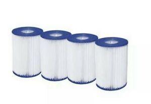 Summer Waves Type A/C Pool Filter Cartridge (4 Pack) FAST SHIPPING