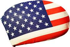 2er Set Spiegelflagge USA Stars & Stripes Außenspiegel Fahne Flagge PKW EM WM