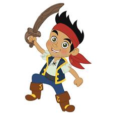 Jake & The Neverland Pirates - Jake Removable Wall Sticker