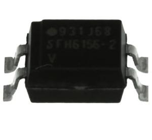 SFH6206-1 OPTOISOLATOR 5.3KV TRANS 4SMD 'UK COMPANY SINCE 1983 NIKKO'