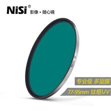 NISI 77mm 82mm 95mm Ti UV CUT-395 Camera lens UV filter Multi-layer coating