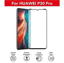 Tempered Glass Full Screen Protector 3D Curved For HUAWEI P30/ P30 Pro/ P30 Lite