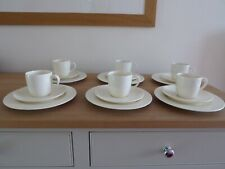 Marks and Spencer Cream Earthenware 6 trios