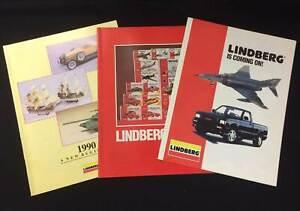 Lindberg Plastic Kit Dealers Shop Catalogues 1990 1991 1992 very good condition