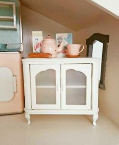 Metal cupboard for dollhouse for Maileg Barbie Blythe wdh: 17.5 x 11.5 x 15