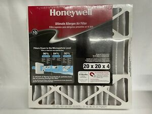New Sealed Honeywell Ultimate Allergen Air Furnace Filter 20 x 20 x 4 FREE SHIP!