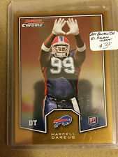 2011 Bowman Chrome Rookie Preview Inserts #BCR26 Marcell Dareus RC Buffalo Bills