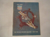 1969 TENTH ANNUAL NATIONAL 500 RACING PROGRAM - NICE - TUB BN-9