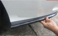 Carbon Hintere Stoßstange Splitter Canards Für Mercedes Benz W205 AMG C63 Sport