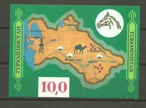 Turkmenistan Block 1 postfrisch 1992 Kunstschätze