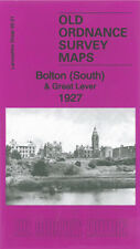 OLD ORDNANCE SURVEY MAP BOLTON SOUTH & GREAT LEVER 1927