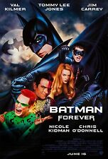 BATMAN FOREVER (1995) ORIGINAL MOVIE POSTER  -  ROLLED