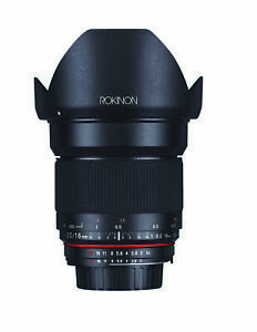 Rokinon 16mm F2.0 High Speed Wide Angle Lens (Micro 4/3)