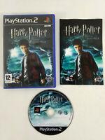 Jeu Playstation 2 PS2 VF Harry Potter Prince de Sang Mele et notice  Envoi suivi