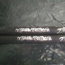 Blink-182 Blink182 Drummer Travis Black & Silver Old Tour Drumsticks Drum Sticks
