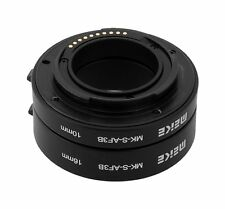 Extension Tube-Set (Automatic) Meike MK-S-AF3B  Set de 2 Bagues pour Sony NEX E-