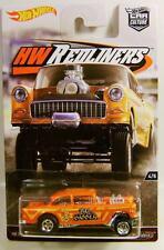 1955 '55 CHEVY BEL AIR GASSER HW REDLINERS CAR CULTURE HOT WHEELS DIECAST 2016