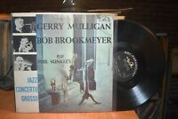 Gerry Mulligan Bob Brookmeyer play Phil Sunkel's Jazz Concerto Grosso LP