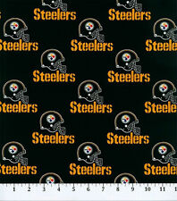 "NFL PITTSBURGH STEELERS FOOTBALL CURTAIN VALANCE  56 inches"" WIDE X 13""LONG"