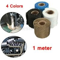 1m 2''  Heat Wrap Exhaust Manifold Tape Downpipe High Temp Insulating Thick Rap