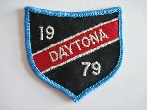 Vintage Embroidered Daytona 1979 Patch -  NOS -  FREE SHIP US